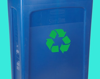 Recycle Decal Recycle Sticker  Recycle Label  Recycle Logo