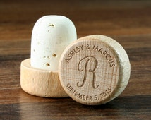 Personalized Wine Stopper, Engraved Wedding Favor, Custom Wedding Gift, Wine Cork, Wedding Gift Ideas