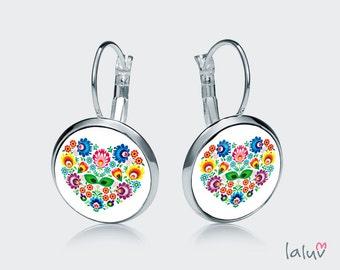Earrings LOVE SLAVIC