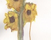 Abstract Sunflower Art Pr...