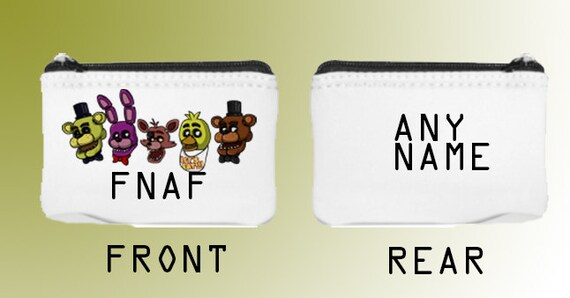 Gift idea five nights at freddy s coin purse small bag 5 nights