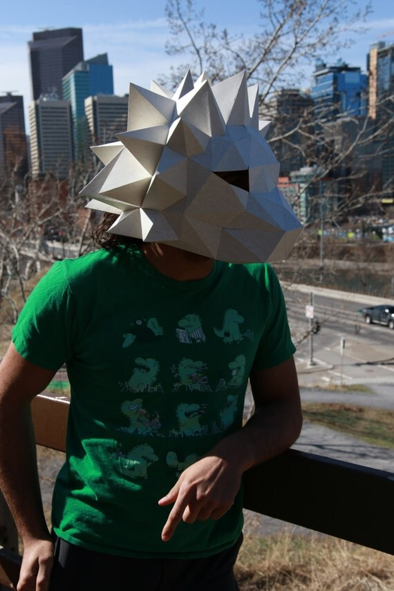 Paper Lion Head Mask From Rpscreations On Etsy Studio