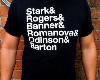 Marvel Avengers Fab 5 Design Men's T-Shirt