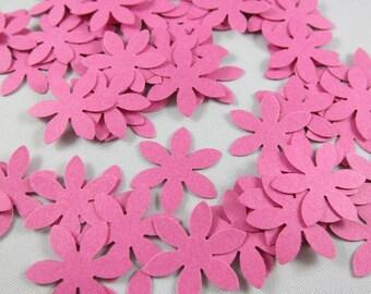 100 Wedding Flower Confetti , Die Cuts, Embellishments