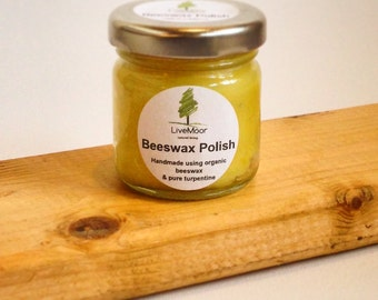 Natural Beeswax Polish – Wood, Granite, Slate Polish - Free UK P&P