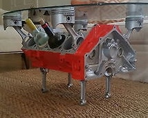 Articles populaires correspondant engine table sur etsy for Table basse moteur voiture