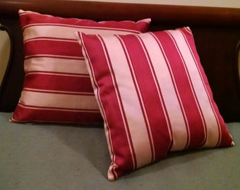 Burnt Red Pillows Etsy