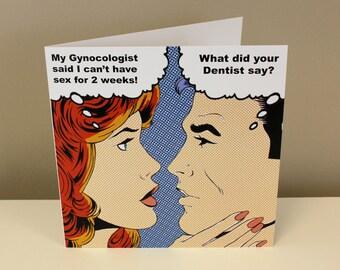 Gynocologist Card