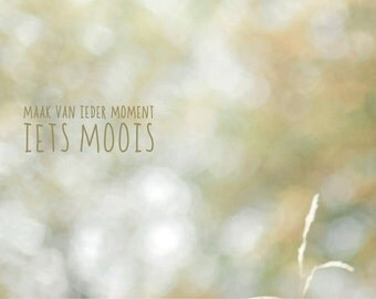 "ZoeteLiefde map ""make every Moment something beautiful '"
