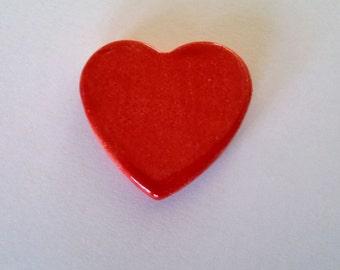 Individual Ceramic  Hearts (Multicolour)