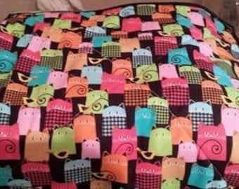 Cat/Dog Quilt, Crate liner, Blanket