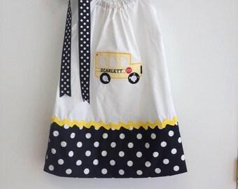 Back to school pillowcase dress