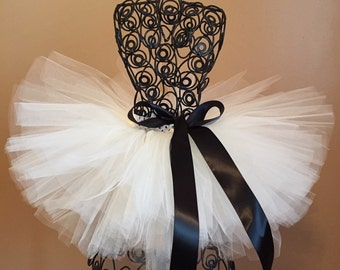 Flower girl Tutu! Ivory Tutu! Princess Tutu!