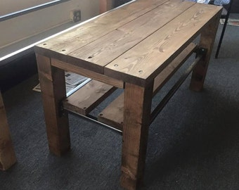 Rustic T.V. Stand/Couch Table