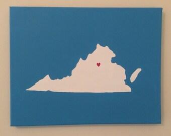 Custom State Painting