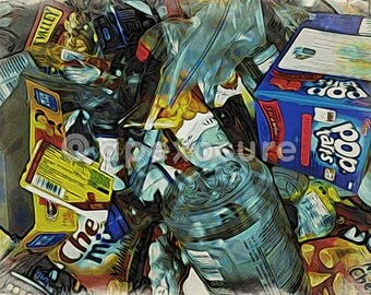 Digital Image of Beautiful Trash: Contemporary Consumerism Part One