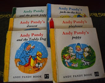 Andy Pandy Collection of Books. Reading Bundle. Maria Bird.