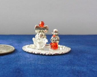 Miniature dresser set