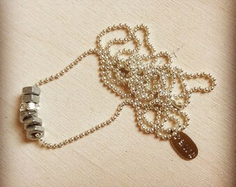 bling hex necklace