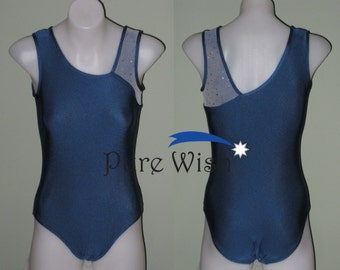 Leotard with Cosmic Mesh detail