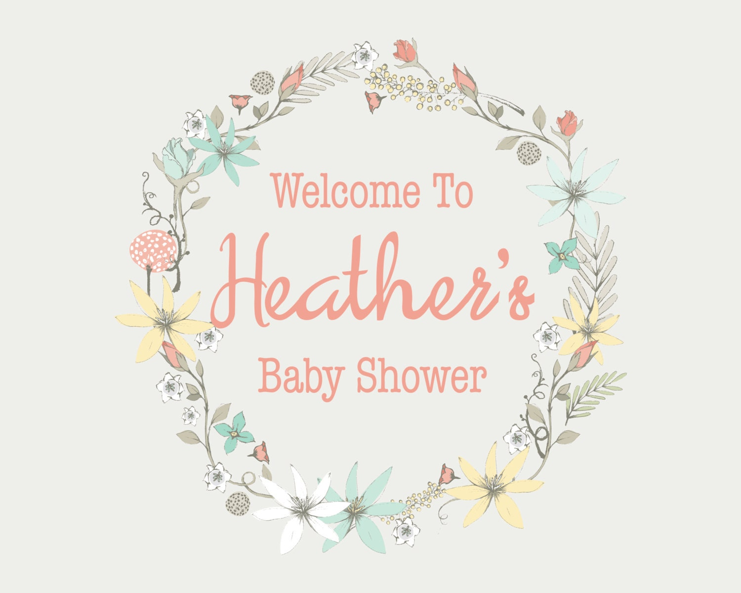 This is a graphic of Canny Free Printable Baby Shower Signs