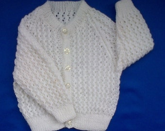 Baby's Lace Patterned Cardigan