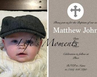 Baptism/Christening Invitation