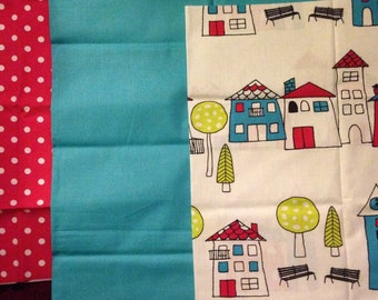 School themed fabric bundle