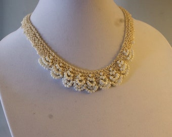 Pearescent Ivory Necklace