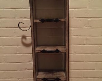 Rustic Wooden Display Case