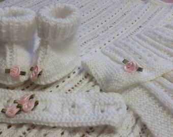 Custom made knit & crochet baby items