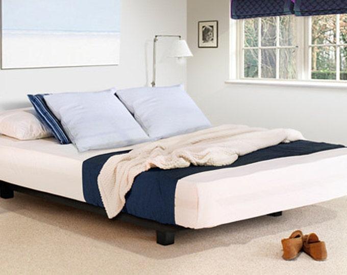 low nightstand for platform bed bohemian platform bed floati