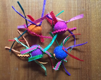 Wool Felt Kitty Toys (2)