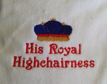 A royal bib for the prince in your life