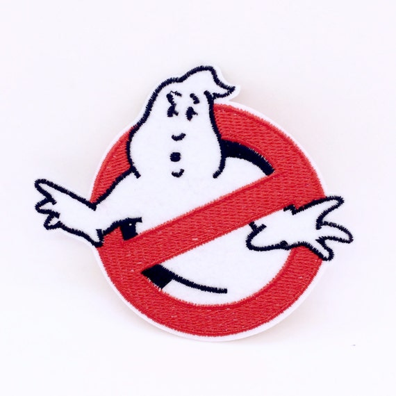Ghostbusters patch Embroidered patch sew on patch Iron on patch Applique