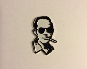 Hunter S Thompson (Fear And Loathing in Las Vegas) Hat Pin