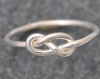 Infinity Knot Ring, Infinity Ring, knot ring, Sterling Silver Infinity Ring, Silver 925 Infinity Ring, popular intinity ring