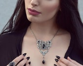 The Duchess  Jewelry Set-Ring and Necklace Jewelry set-Victorian gothic Jewelry-Gothic necklace and ring