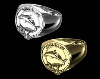Clan Kennedy Crest Men's Signet Ring
