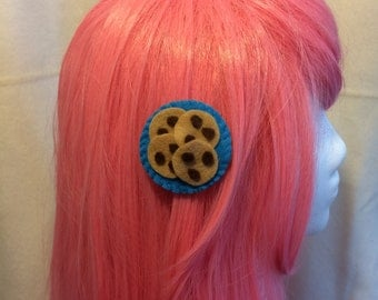 Chocolate Chip Cookie Hair Clip, Lolita, Cosplay