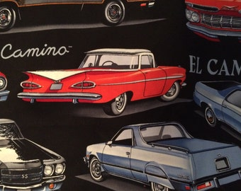 Chevy vintage car print