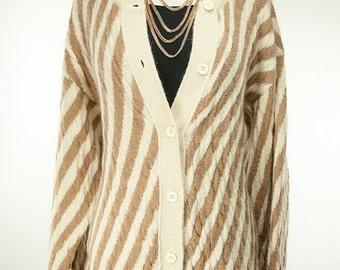 Geoffrey Beene ~ 70s ~ Alpaca Wool Sweater ~ Size M
