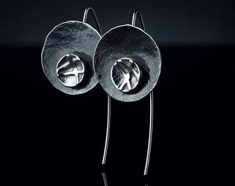 Silver earring MABU104A