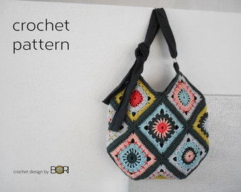 handmade crochet bag pattern