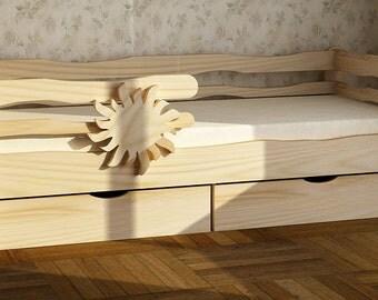 Wooden bed for children