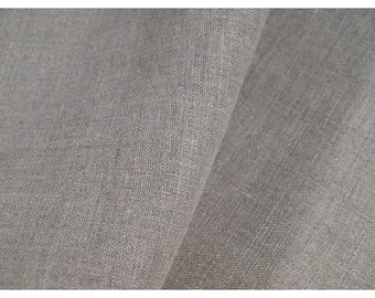 New natural organic linen flax fabric material for tablecloth