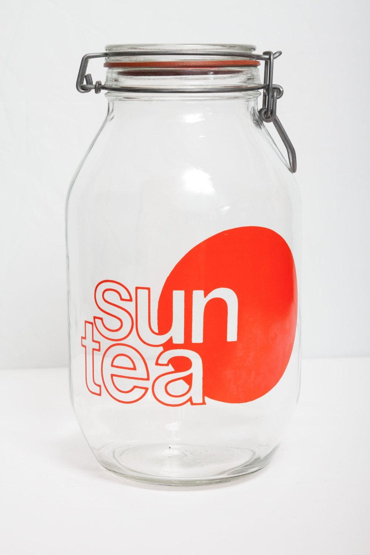 Vintage Sun Tea Jar 3 Liters