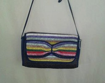 vintage colorful purse