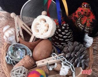Heuristic Play Treasure Basket