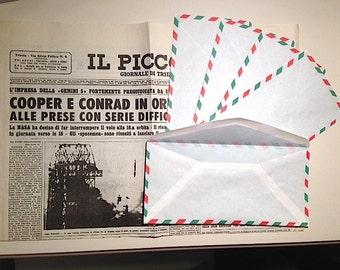 Vintage Envelopes Italian Air Mail 10 pz
